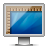 ruler, glossy, screen icon