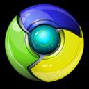 Alt, Chrome, Google, Standard icon