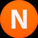 Circle, Flat, Nimbuzz icon
