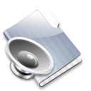 sound, voice, graphite icon