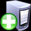 add,server,computer icon
