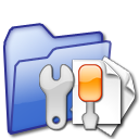 folder, config, setting, document, configuration, preference, file, configure, paper, option icon