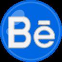 media, behance, social icon