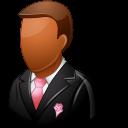 groomsman, wedding, dark icon