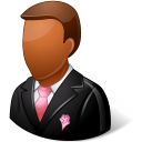 Wedding Groomsman Dark icon