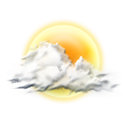Mostly, Sunny icon