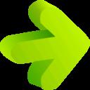 Arrow Green 01 icon