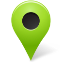 marker, outside, chartreuse, mapmarker icon