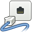 gnome, network, wired icon