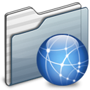 Folder, Graphite, Sites icon