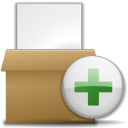 add, to, archive, files icon