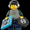 Dj, Lego icon