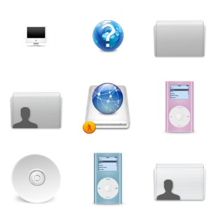 Milkanodised icon sets preview