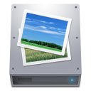 Disk HDD Pictures icon