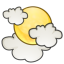 weather, sun, cloud, climate, science, application icon