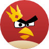angrybirds,friends icon