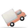 transportation, delivery, truck, vehicle icon