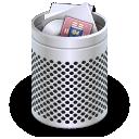 dock,full,trash icon