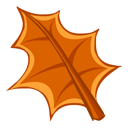 leaf, drought icon