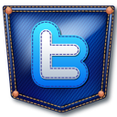 jeans, twitter, pocket icon