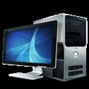 desktop computer, computer icon