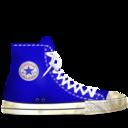converse,blue,dirty icon