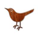 wood, sn, bird, social network, social, animal, twitter icon