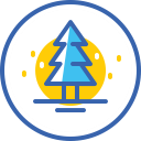 christmas tree, christmas, новый год, xmas, snow, tree icon