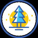 christmas tree, christmas, новый год, xmas, snow, tree icon