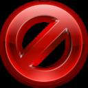 action,fail icon