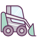 work, heavy equipment, building, machine, construction, construction machinery, heavy machinery icon
