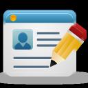 edit profile, sign, edit account, create account, edit user, create profile icon