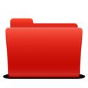 soda, folder, new, red icon