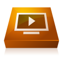 adobe, media, player icon