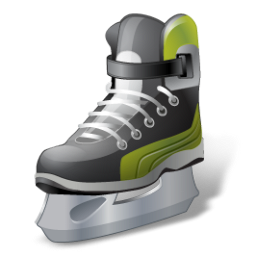 iceskate, hockey icon