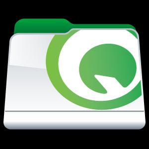 folder, quark icon