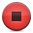 stop, button, red icon