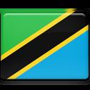tanzania, flag icon