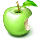 Apple, Fruit, Green icon