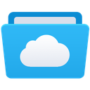 explorer, es, fm, cloud icon