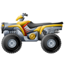 racing, atv icon