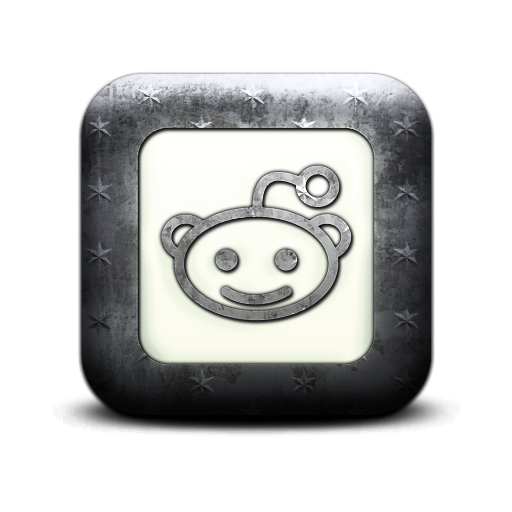 reddit, square, logo icon