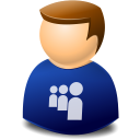 user, myspace icon