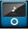 alt, ipod icon