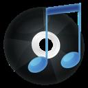record, music, itunes icon