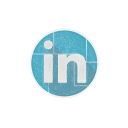 linkedin, in, social, linked, web, network icon