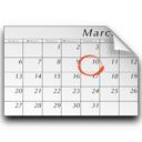 vcalendar, schedule icon