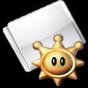 Folder Games Shine Sprite icon