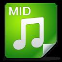 Filetype mid icon