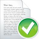Accept, Blog, Post icon